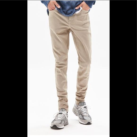 52940337dfcce PacSun Stacked Skinny Fit Khaki Jeans. M_5bbf8a08e944baf8c5025b19